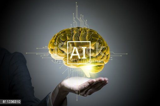 990107166 istock photo AI(Artificial Intelligence) concept, 3D rendering, abstract image visual 811236310