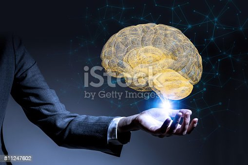 istock AI(Artificial Intelligence) concept, 3d rendering 811247602