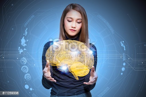 istock AI(Artificial Intelligence) concept, 3d rendering 811259338