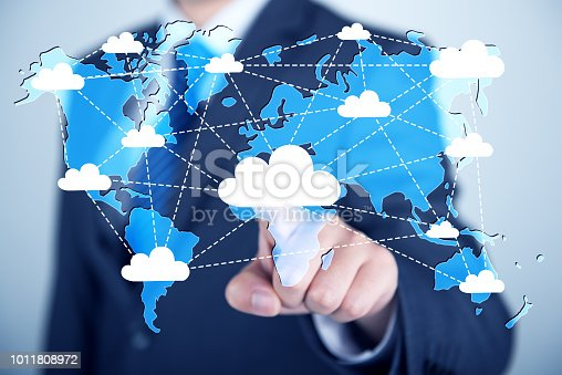 istock Concept about cloud computing 1011808972