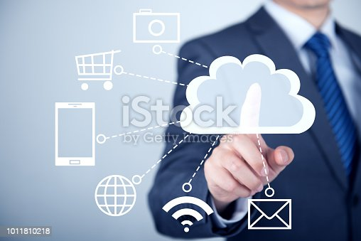 istock Concept about cloud computing 1011810218