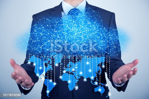 istock Concept about cloud computing 1011810250