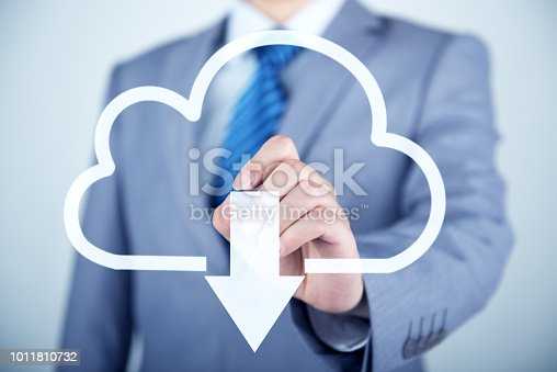 istock Concept about cloud computing 1011810732