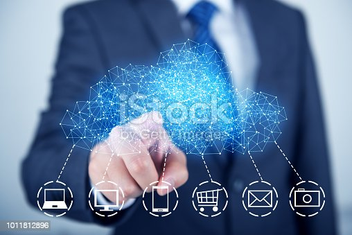 istock Concept about cloud computing 1011812896