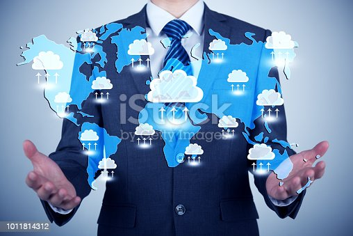 istock Concept about cloud computing 1011814312