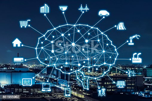 istock AI concept. Artificial Intelligence and various industries. 851955962