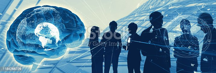 1140691204istockphoto AI (Artificial Intelligence) concept. Business and technology. 1154268729