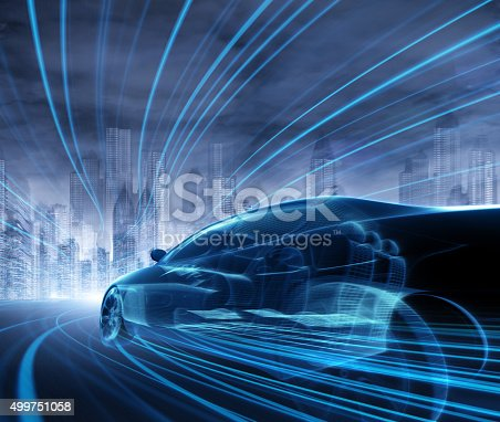 istock Concept Car 499751058