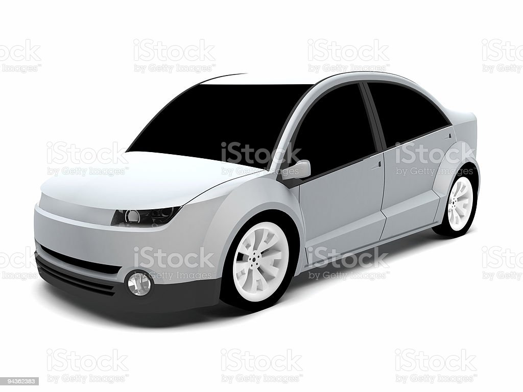 Concept Car royalty-free stock photo