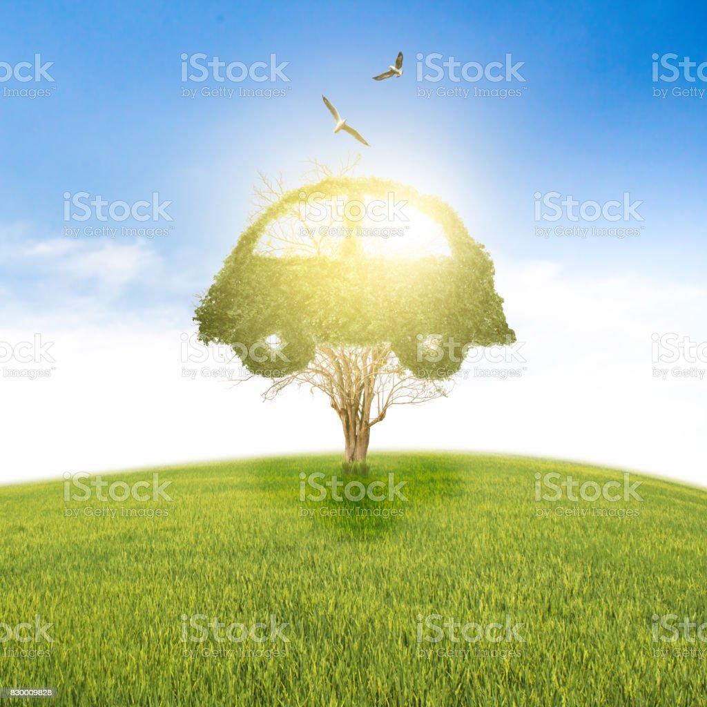 Photo libre de droit de Recyclage De Voiture Concept De Vie ...