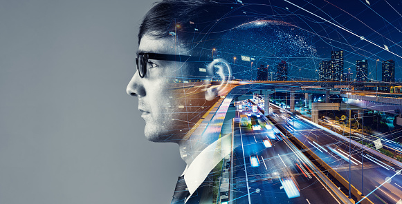 1054574034 istock photo AI (Artificial Intelligence) concept. Communication network. 1204762064