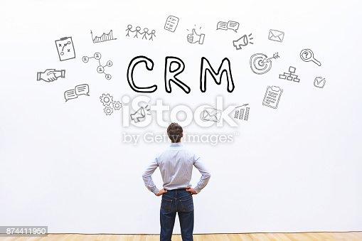 istock CRM concept, Customer Relationship Management 874411950