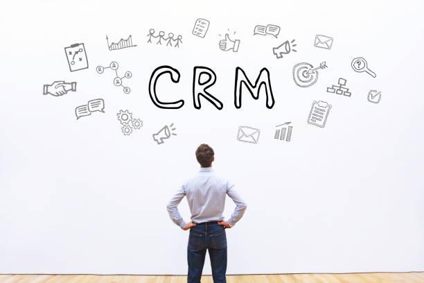 Concept de CRM, Customer Relationship Management - Photo