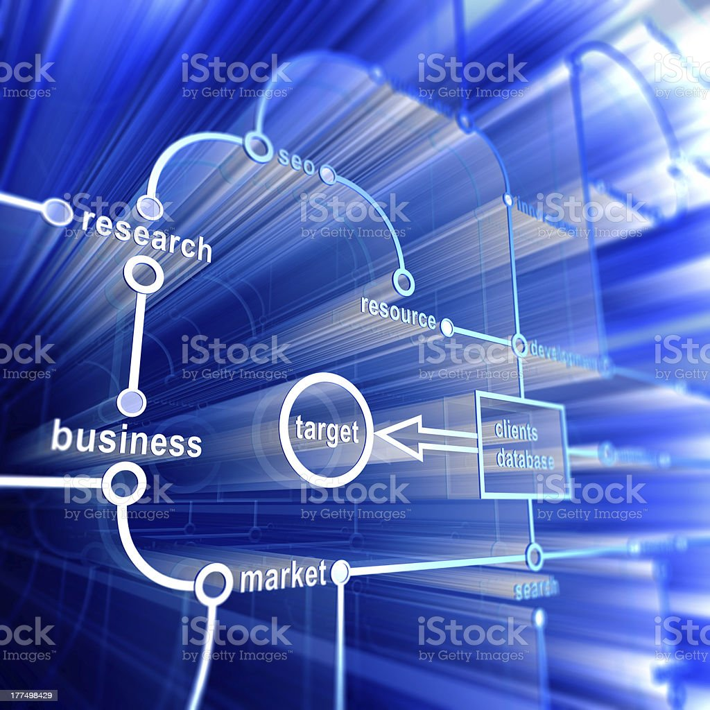 Concept database royalty-free stock photo