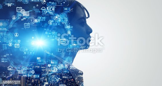 1140691167 istock photo AI (Artificial Intelligence) concept. Deep learning. GUI (Graphical User Interface). 1255527272