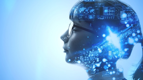 istock AI (Artificial Intelligence) concept. Deep learning. Mindfulness. 1193843525