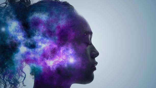 ki-konzept (artificial intelligence). deep learning. achtsamkeit. psychologie. - fähigkeit stock-fotos und bilder