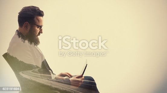 istock Concept, depicting business trip 623191694