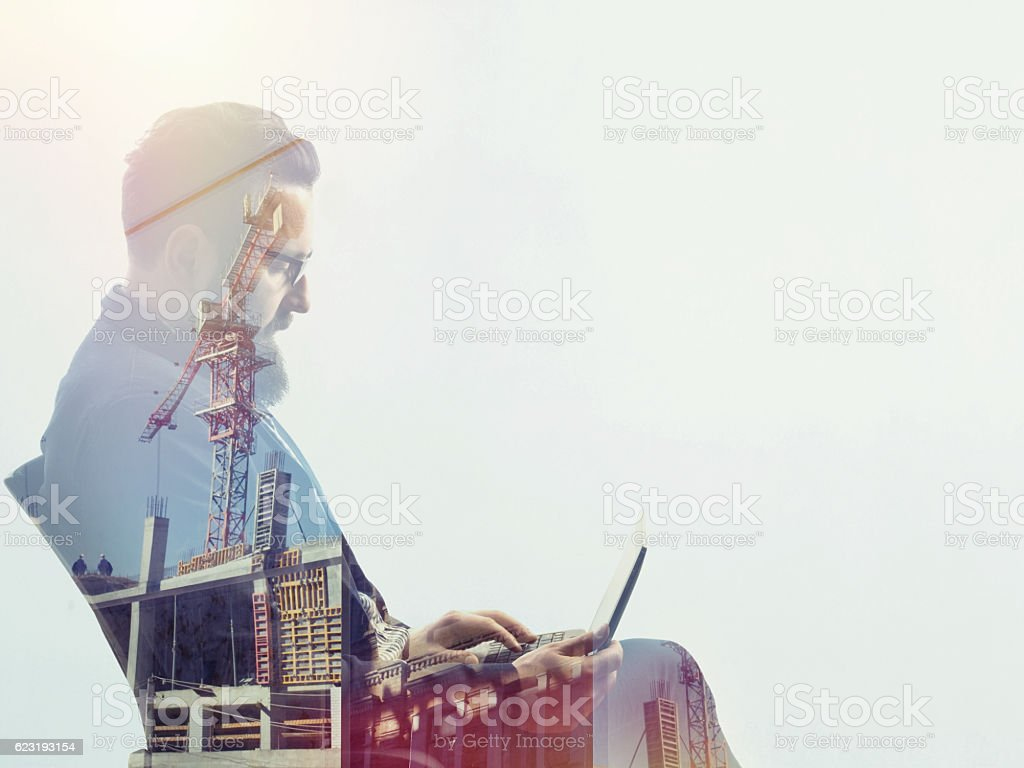 Concept, depicting investing stock photo