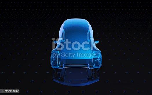 istock Concept design car 672219932