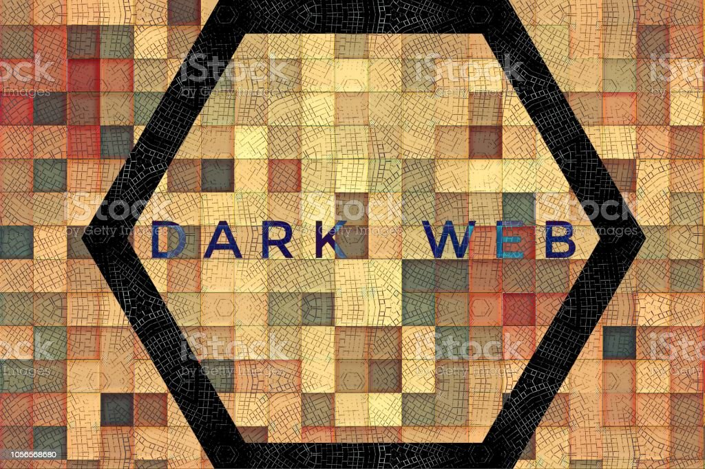 Concept Design With Words Dark Web Stock Photo & More Pictures of