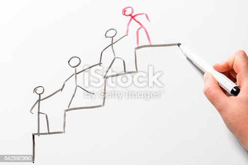 istock concept drawing on the blackboard 542592990