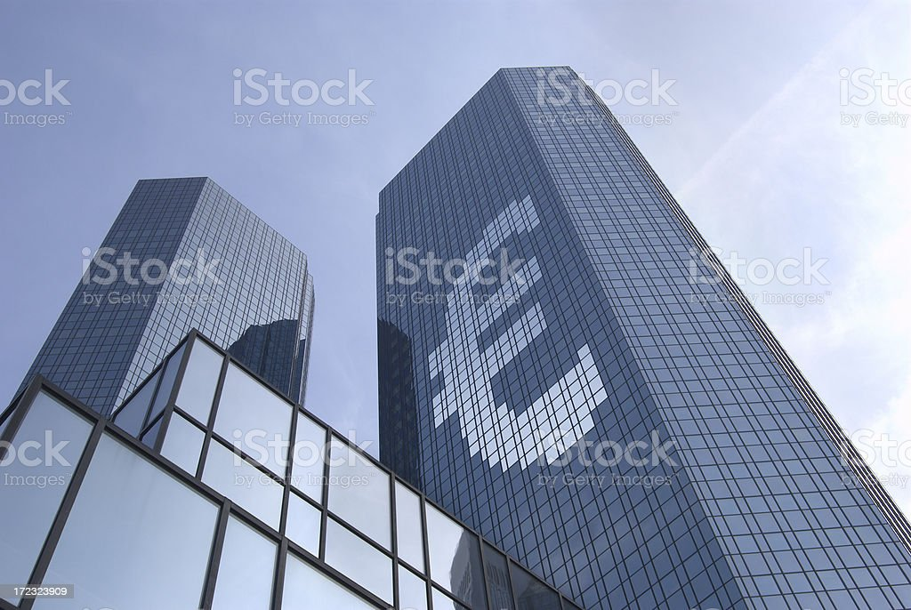 Concept Euro royalty-free stock photo
