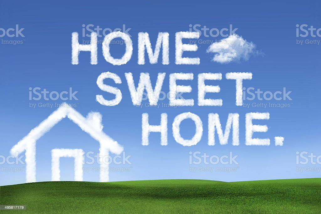 concept for dream house stock photo