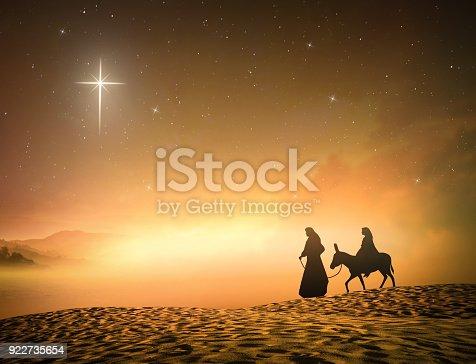 istock Concept for Jesus born 922735654