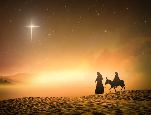 concept for jesus born - nativity scene stock pictures, royalty-free photos & images