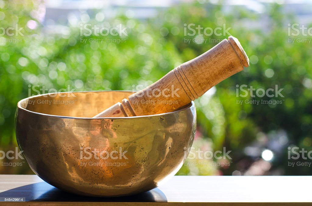 Concept for meditation o mindfulness stock photo