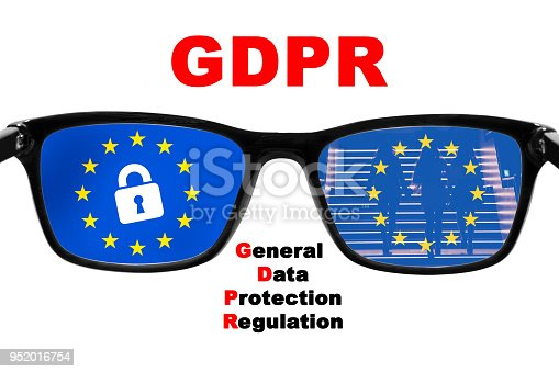 937370192 istock photo GDPR concept. General Data Protection Regulation. New EU law from 2018. 952016754