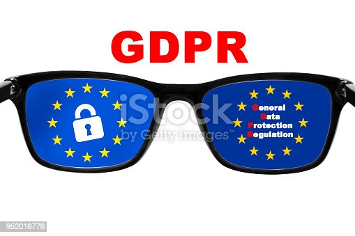 937370192 istock photo GDPR concept. General Data Protection Regulation. New EU law from 2018. 952016776