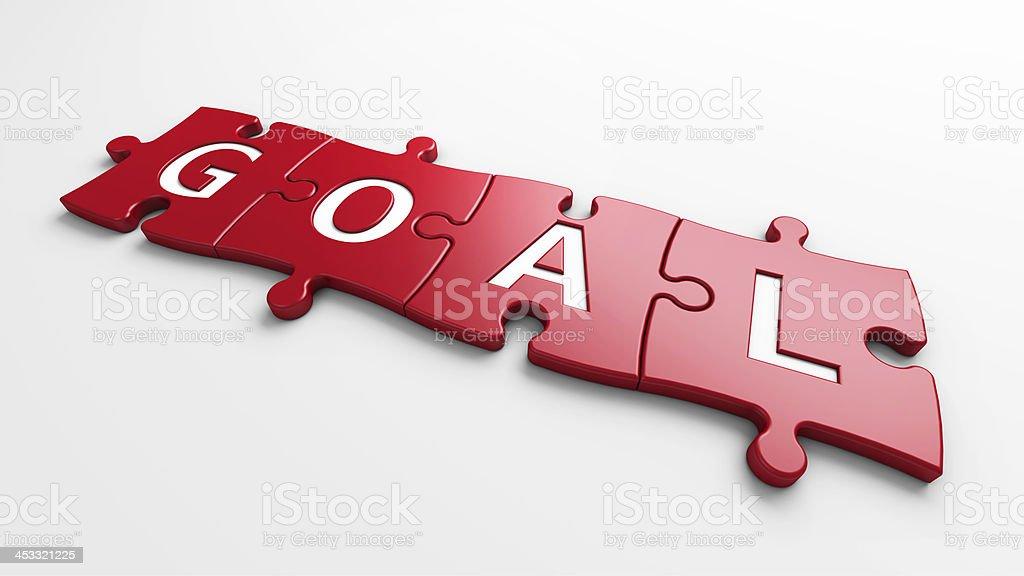 concept goal royalty-free stock photo