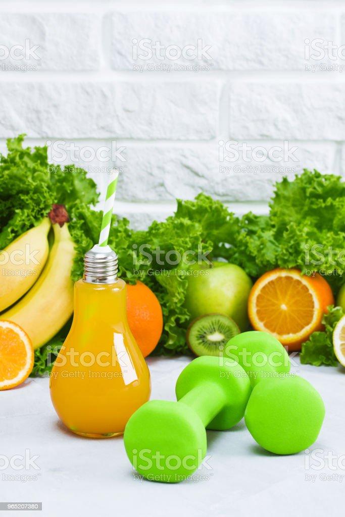 Concept healthy eating diet plan detox drinks sports nutrition ideas zbiór zdjęć royalty-free