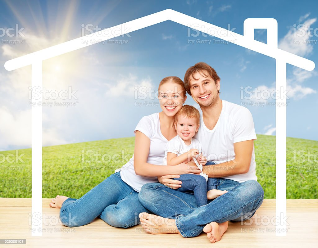 concept: housing for young families stock photo