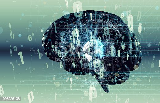 istock AI(Artificial Intelligence) concept. human brain and digital proccessing. 926526108