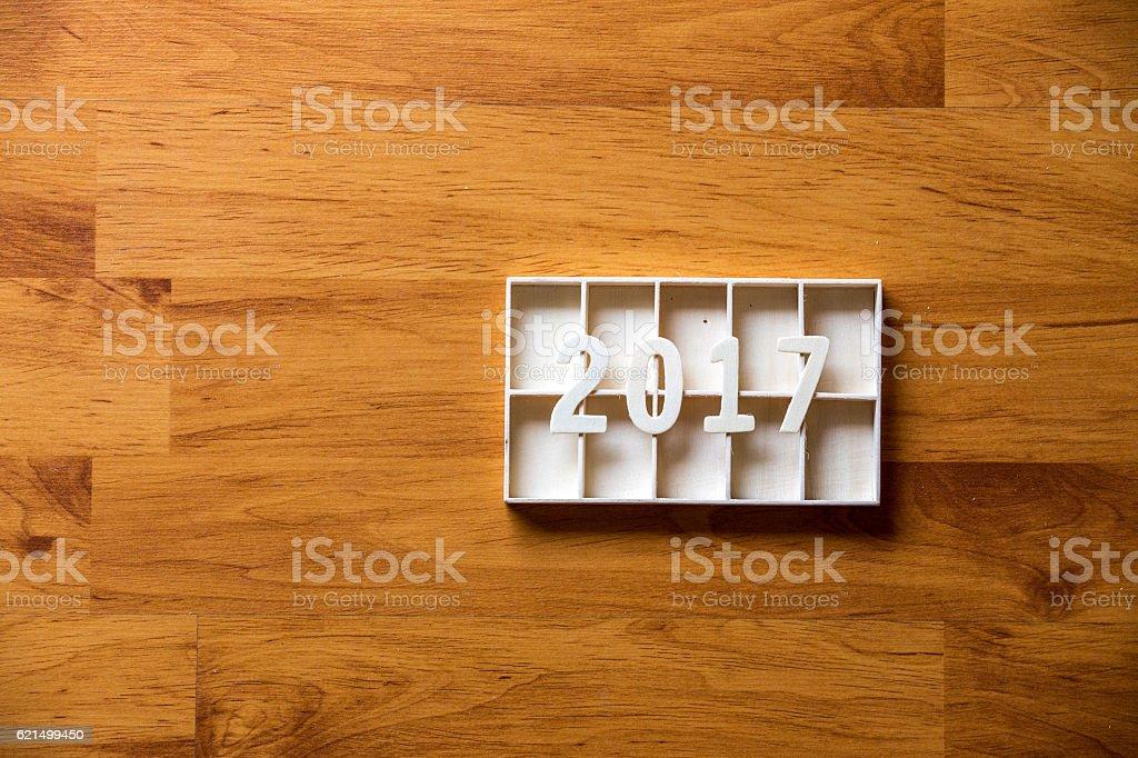 Concept idea New Year background photo libre de droits