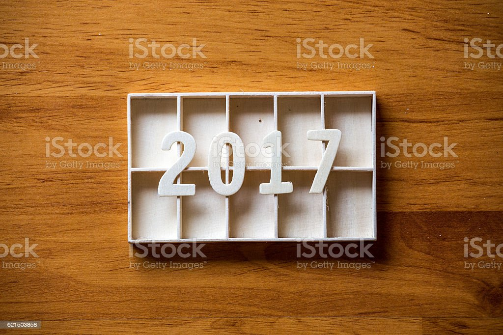 Concept idea New Year background Lizenzfreies stock-foto