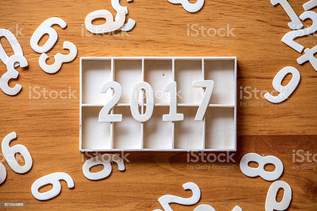 Concept idea New Year background foto stock royalty-free
