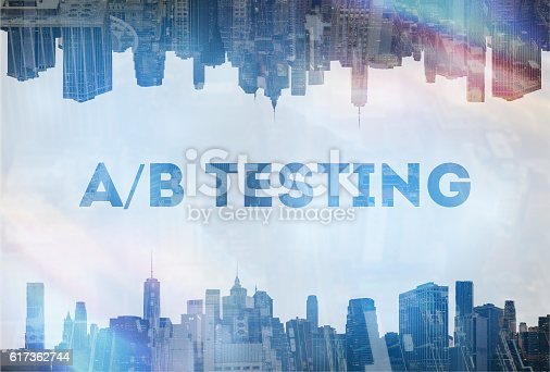 Concept image A/B testing