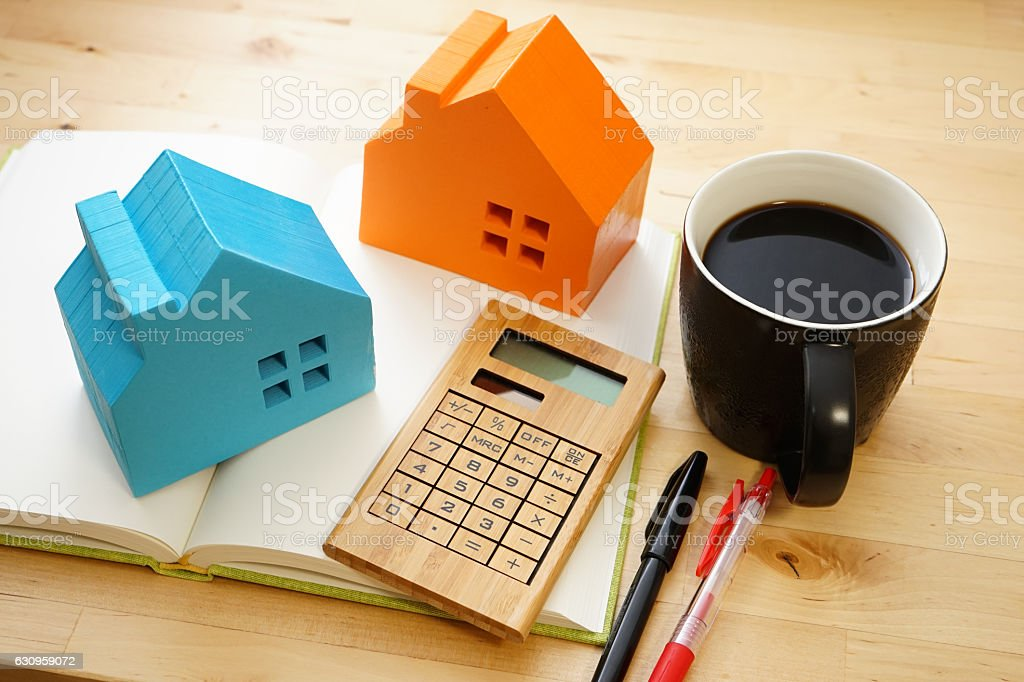 Concept image of real estate stock photo