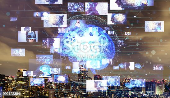 913589004istockphoto AI(Artificial Intelligence) concept. Image recognition. 990122384