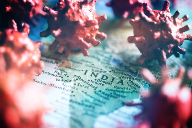 coronavirus india stock photos