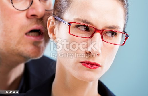 istock concept man on woman 916049464