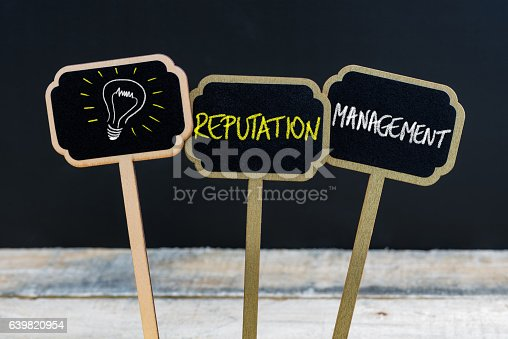 istock Concept message written with chalk on wooden mini blackboard labels 639820954