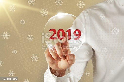 1063751940 istock photo Concept of 2019 1076861550