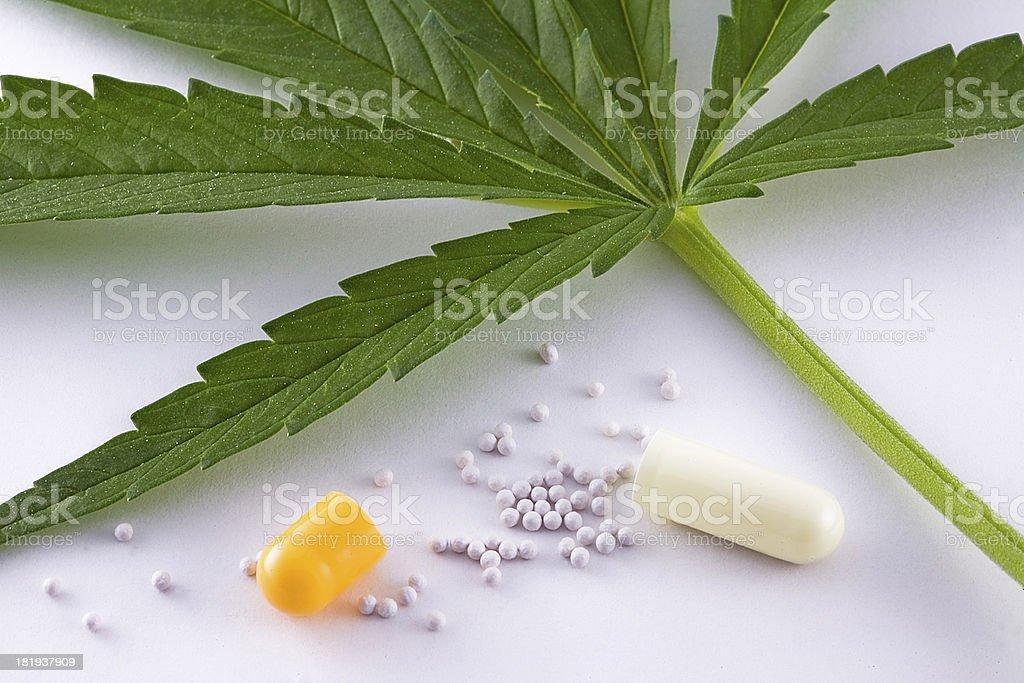 Concept of alternative medicine stock photo