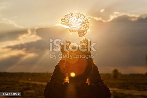 istock Concept of brainstorming  in business. 1149695568