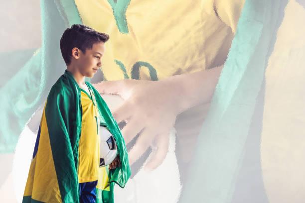 Conceito do futebol brasileiro - foto de acervo